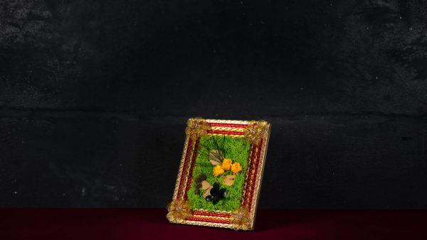 Cornice in vetro di Murano - Veste