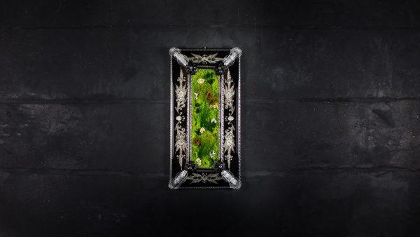 Quadro vegetale stabilizzato Fenice