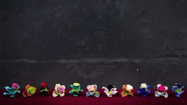 Rosa Veneta in vetro di Murano