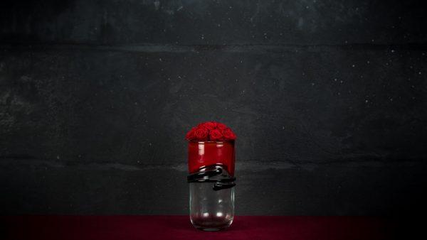 Vaso Cà Rizzi in vetro di Murano