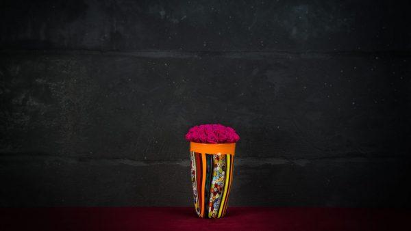 Vaso Torete in vetro di Murano
