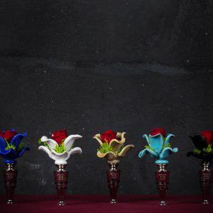 Tappo bottiglia in vetro di Murano - Diedo