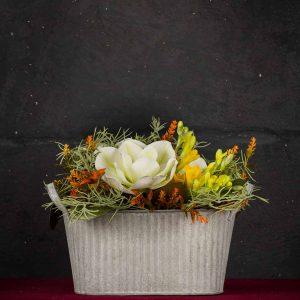 Ciottola Primavera - Fiori finti e artificiali di qualità
