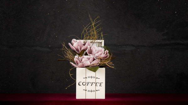Coffee - Fiori finti e artificiali di qualità