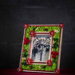 Portafoto in vetro di Murano - Colonne