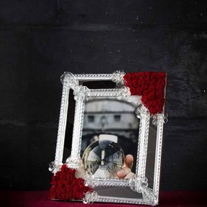Portofoto in vetro di Murano - Guglie