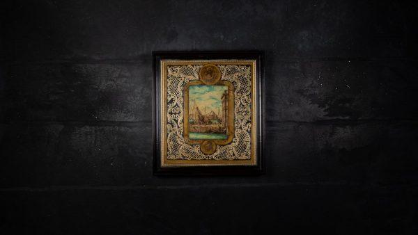Quadro in vetro di Murano Dandolo