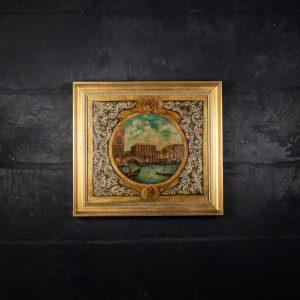 Quadro in vetro di Murano Gradenigo