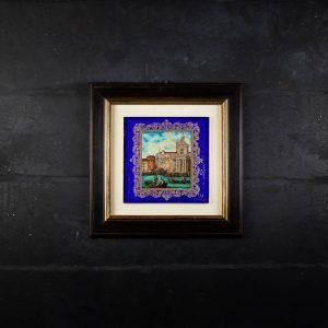 Quadro in vetro di Murano - Manin