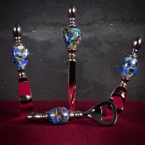 Set da tavola in vetro di Murano - Fava