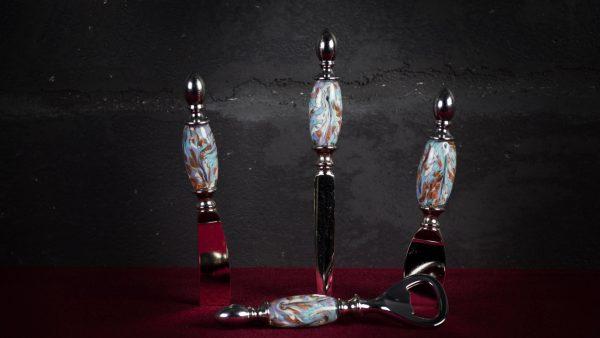 Set da tavola in vetro di Murano - Grana