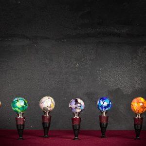 Tappo bottiglia in vetro di Murano - Suelo