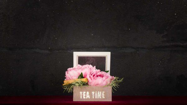 Tea Time - Fiori finti e artificiali di qualità