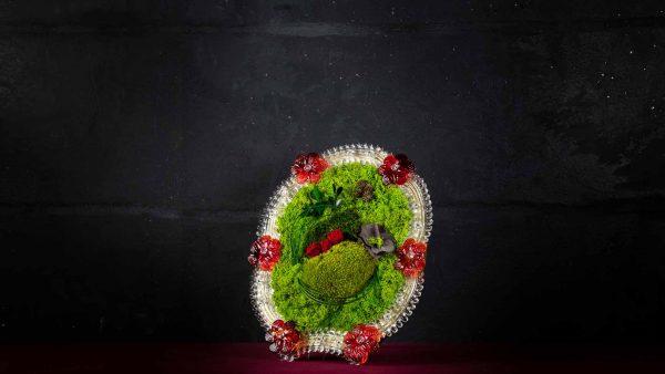 Cornice in vetro di Murano - Teatro
