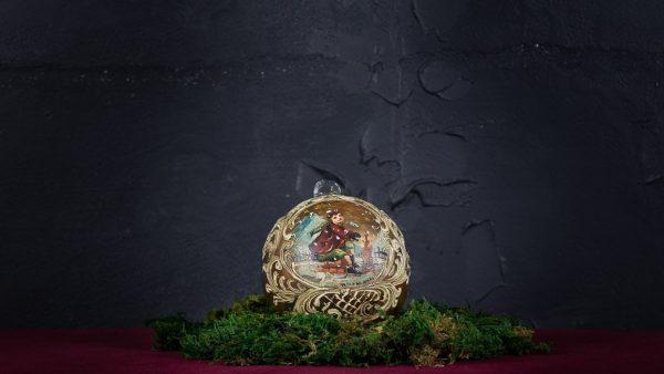 Palla di Natale in vetro di Murano - Addobbo di Natale