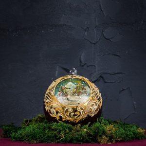 Palla di Natale in vetro di Murano - Albero di Natale