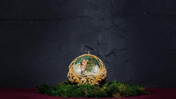 Palla di Natale in vetro di Murano - Campane di Natale