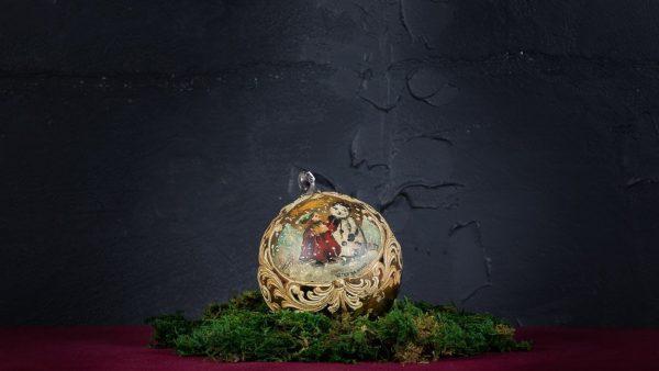 Palla di Natale in vetro di Murano - Dolce di Natale
