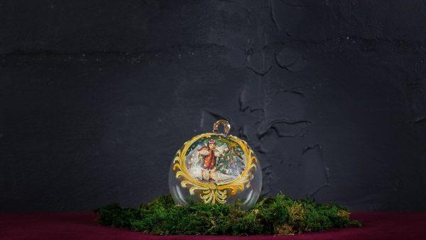 Palla di Natale in vetro di Murano - Emozioni di Natale