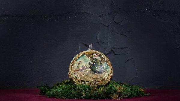 Palla di Natale in vetro di Murano - Festa di Natale