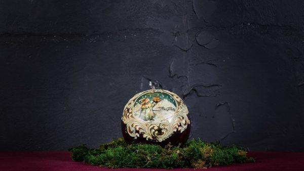 Palla di Natale in vetro di Murano - Lista dei desideri