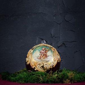 Palla di Natale in vetro di Murano - Magico Natale