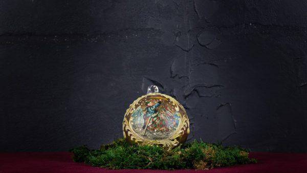Palla di Natale in vetro di Murano - Meraviglie di Natale