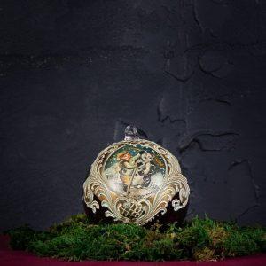 Palla di Natale in vetro di Murano - Re Magi