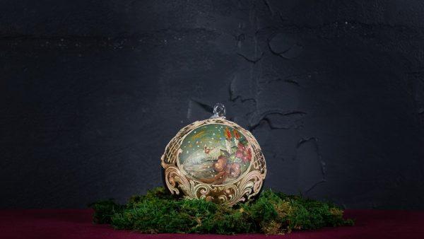 Palla di Natale in vetro di Murano - Regali Natalizi