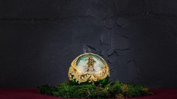 Palla di Natale in vetro di Murano - Regalo di Natale