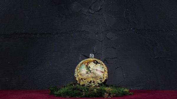 Palla di Natale in vetro di Murano - Regalo Prezioso