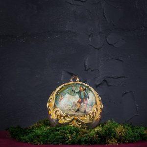 Palla di Natale in vetro di Murano - Tradizione di Natale
