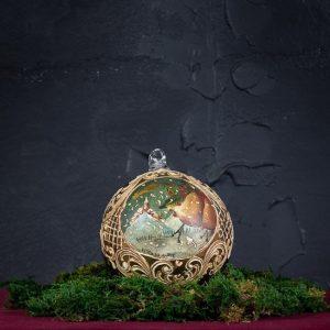 Palla di Natale in vetro di Murano - Viaggi di Natale
